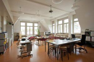 Maihof Schulhaus nach Umbau Luzern, den 09.05.2013 Foto: Priska Ketterer Luzern